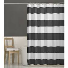 Gray Shower Curtains Fabric Gray Silver Shower Curtains You Ll Wayfair