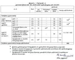 tamil nadu 11th plus one model question papers 2018 syllabus