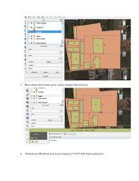 isi layout peta laporan layout peta dengan qgis