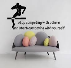 online get cheap wall stickers home decor sport quotes aliexpress