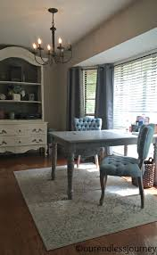 Dining Room Desk by Annie Sloan Dining Table To Double Desk Make Over Our Endless