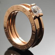 bvlgari rings weddings images Bvlgari b zero1 wedding band ring in 18kt pink gold with pave di jpg