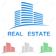 Free Real Estate Logo Templates by Real Estate Vector Logo Design Template Royalty Free Cliparts