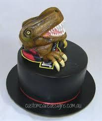 jurassic park dinosaur cake cake by custom cake designs cakesdecor
