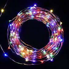 copper wire lights battery string lights battery operated solla string copper wire