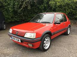 peugeot 205 gti used peugeot 205 for sale nottinghamshire