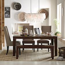 Dining Table Chandelier Large Rectangle Hanging Capiz Chandelier White West Elm