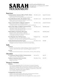 News Reporter Resume Example Sample Resume For Public Relations Officer Resume For Your Job