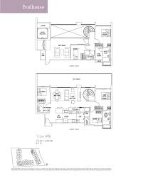 Feng Shui Bedroom Floor Plan Penthouse 5 Bed The Lakefront Residences