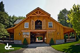neat barn style house interior with description in pole barn homes