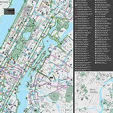 map of nyc nyc dot bicycle maps