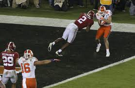 Penalty Flag Football Why Didn U0027t Alabama Commit Pass Interference On The Final Play Wsj