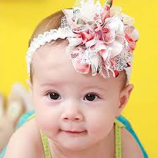 baby girl hair bands bundle 10 pc baby bow ribbon elastic lace hair band