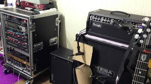 Audio Video Rack Systems Guitar Rack System Test Youtube