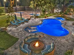 Backyard Designs With Pool 25 Best Outdoor Basketball Court Ideas On Pinterest Backyard