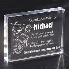 graduation keepsakes graduation glass block graduation gifts personalized
