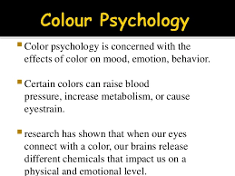 effect of color on mood colours and moods psychology