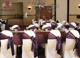 Purple Chair Covers 40 Best Chair Covers U0026 Ties Images On Pinterest Chair Covers