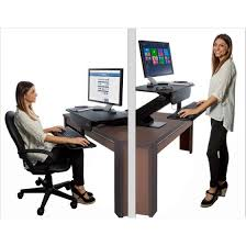 Sit Stand Desk Adapter Prosumer S Choice Adjustable Height Sit To Standing Desk Adapter