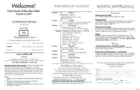 wedding bulletins emejing wedding church program template photos styles ideas