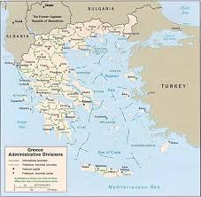 Corinth Greece Map by Basic Greek Map U2022 Mapsof Net