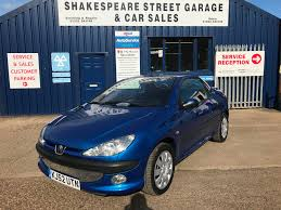 peugeot car garage used peugeot 206 s 2 doors cars for sale motors co uk