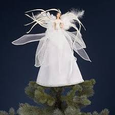 Christmas Decorations Fairy Tree Topper by Gisela Graham Resin Sheer Peacock Christmas Fairy Tree Topper