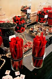 Candy Party Table Decorations Red Candy Buffets Moulin Rouge Paris Moulin Rouge And Rouge