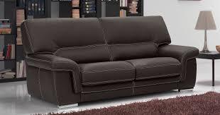 canapé convertible cuir center aoste cuir 1 5mm ou 2mm personnalisable sur univers du cuir