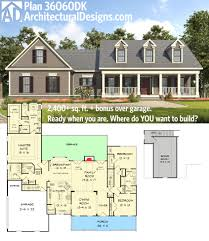plan 36060dk appealing 3 bed country house plan architectural