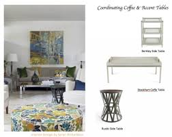 crate and barrel accent tables how to coordinate coffee accent tables like a designer maria