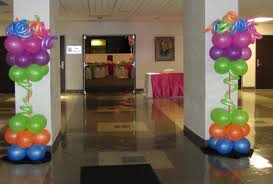 party people event decorating company neon prom