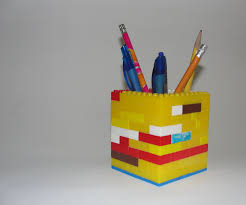 cool pen holders lego pencil pen holder 3 steps