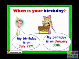 lessons 3 3 when is your birthday