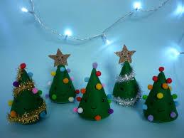 freestanding felt christmas tree christmas desk decoration