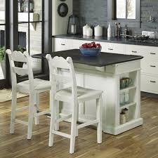 wood top kitchen island fiesta wood top kitchen island with 2 stools homestyles