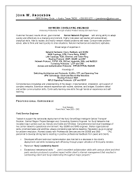 Electronics Engineer Resume Format Best Cv Format For Network Engineers
