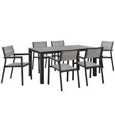 7 Piece Outdoor Patio Dining Set - outdoor sets