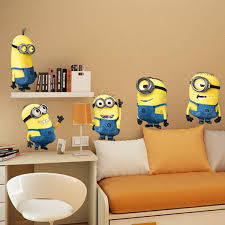 Kid Room Wallpaper by Kids Bedroom Ideas With Minion Theme Home Design And Interior