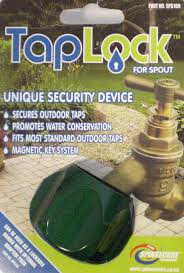 Outside Faucet Lock Spinsecure Tap Lock And Water Security Product