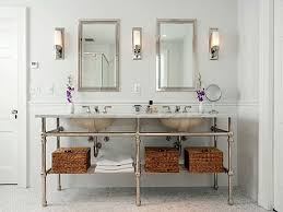 Bathroom Vanity Light Ideas Bathroom Bathroom Lighting Ideas Double Vanity Modern Double