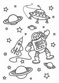 outer space coloring spaceships outer space spaceship