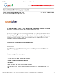 Career Builder Resume Bongdaao Com Just Another Resume Examples