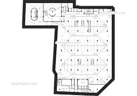 Parking Building Floor Plan Parking Dwg Models Free Download