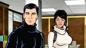 archer cartoon review archer