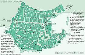 city map dubrovnik city map