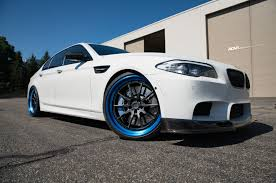 matte white bmw alpine white bmw f10 m5 adv10 tf cs series wheels