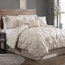 Room Essentials Comforter Set Amazon Com Avondale Manor 7 Piece Ella Pinch Pleat Comforter Set