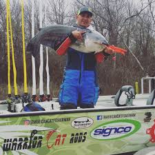 santee cooper fishing guides warrior cat tackle pro staff