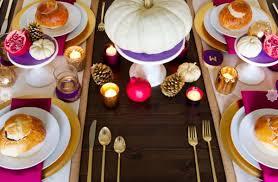 Thanksgiving Table 16 Thanksgiving Decor Ideas In Purple